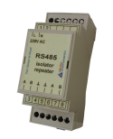 NEW -  RS485 galvanically isolated repeater