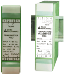 Transmitters PISO series